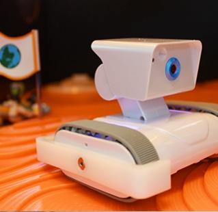 Zoom sur le robot
