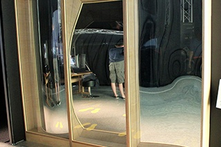 Miroirs déformants