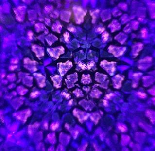 Pierres fluorescentes UV