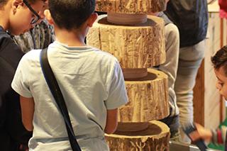 """Totem - Expo """"Promenons-nous dans le bois"""""""